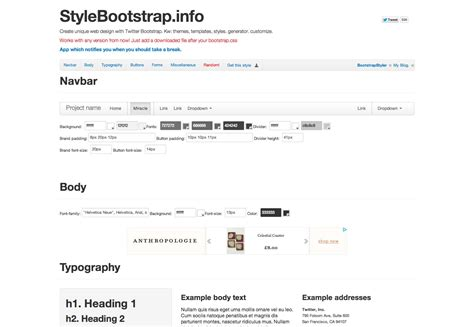 bootstrap kitchen sink how to modify bootstrap simply and effectively 1762