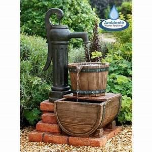 Fontaine A Eau Exterieur : catgorie fontaine de jardin page 2 du guide et comparateur ~ Carolinahurricanesstore.com Idées de Décoration