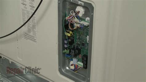 ge refrigerator main control board replacement wrx youtube