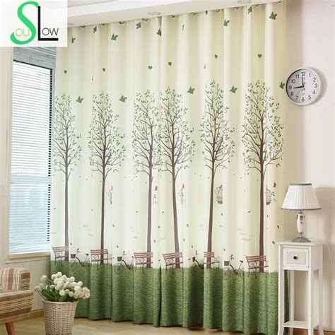 soul korean bedroom windows shading curtainprinting