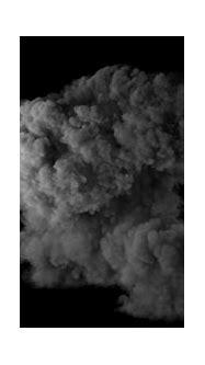 Realistic fireball explosion with huge smoke blast 3D ...