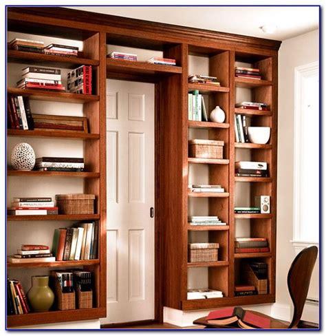 build  bookcase headboard bookcase home design