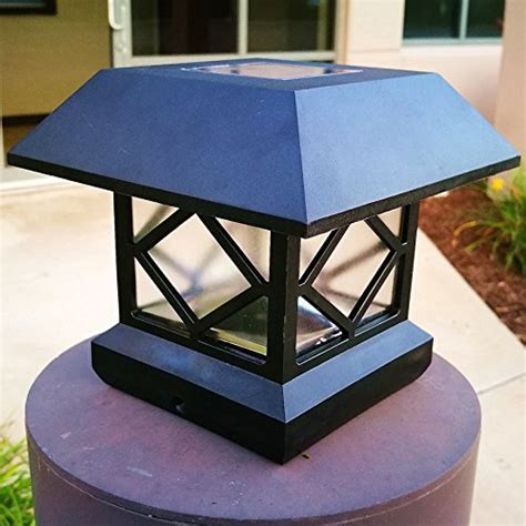 Solar Light,Post Cap Lights 4 x 4 Plus Bright 15 Lumen