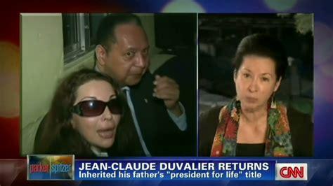 The Blogger Return Of Baby Doc Duvalier Brings Call For