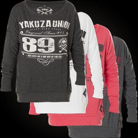 yakuza sweater glsb  print   skull