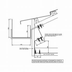 CAD Detail Of Gutter At Roof Eaves Cadblocksfree CAD