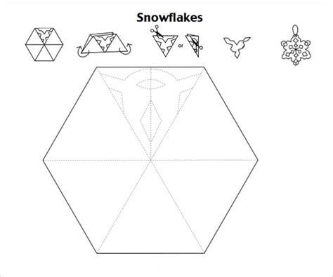 snowflake template frozen snowflake template 7 free pdf
