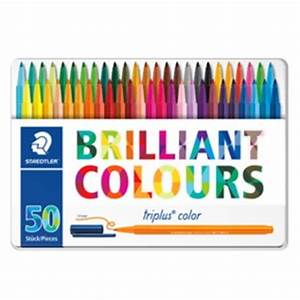 STAEDTLER triplus color 323 Triangular fibre tip pen