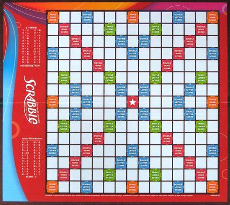 Scrabble Tile Distribution by Blank Scrabble Board Image Printable Invitation