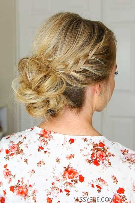 Homecoming Updo Hairstyles by 30 New Braided Updo Hairstyles Hairstyles And Haircuts