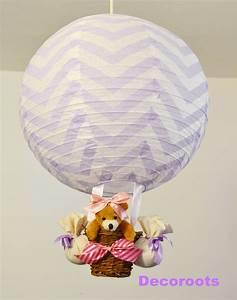 Luminaire Bébé Fille : lampe montgolfi re enfant b b fille enfant b b luminaire enfant b b decoroots ~ Teatrodelosmanantiales.com Idées de Décoration