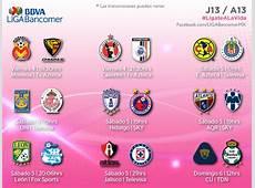 jornada 13 liga bbva bancomer CalendarioLaboralcommx