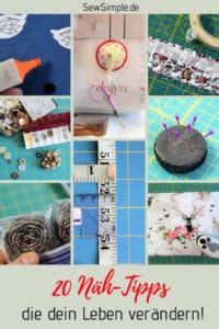 Selber Nähen Tipps by N 228 Hen Sch 246 Nes Selber Machen 4744 Kreative Anleitungen