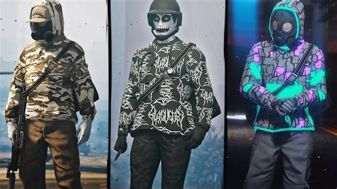 Gta 5 Best Tryhard Outfits Freemoderng Youtube