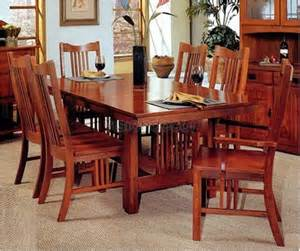 mission style dining room set mission style table and chairs marceladick