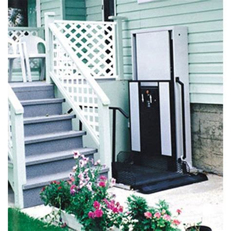 freedom 52 quot wheelchair porch lift for home right