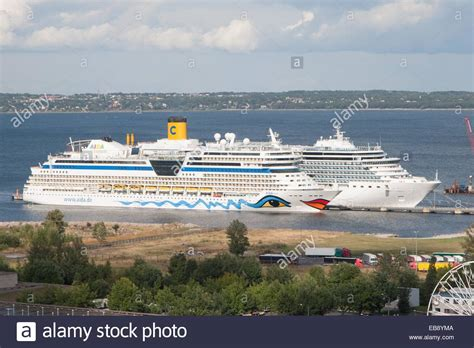 Cruise Port Tallinn Harju Estonia Stock Photo Royalty Free Image 75800042 - Alamy