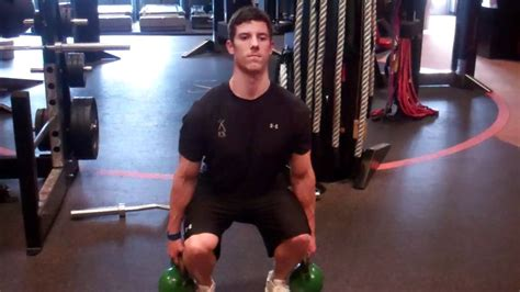 kettlebell squat double