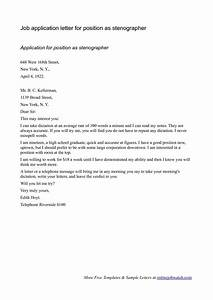 best photos of cover letter for any position online job With applying for any position cover letter