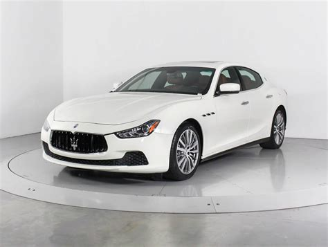 Maserati For Sale In Florida by Used 2015 Maserati Ghibli S Q4 Sedan For Sale In West Palm