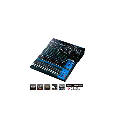 Console Yamaha by Console De Mixage Analogique Yamaha Mg16xu Pour 390 83