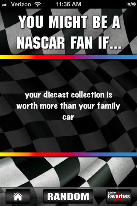 nascar jokes  edition iphone lifestyle apps