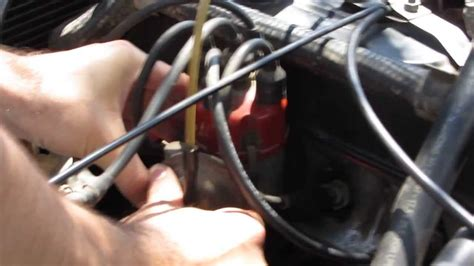 adjust ignition timing  car youtube