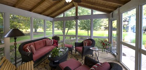 screen porches outdoor living with archadeck of chicagoland