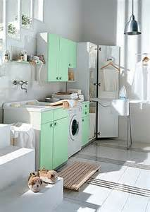 laundry room in kitchen ideas white and colored laundry room cabinets from idea digsdigs