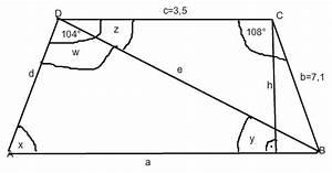 Trapez Winkel Berechnen : trigonometrie trapez und rechtwinkliges viereck mathelounge ~ Themetempest.com Abrechnung