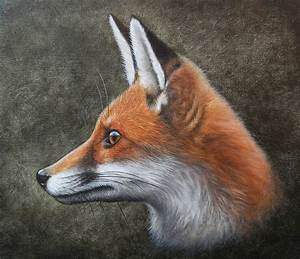 Red Fox Oil painting by painterman33 on DeviantArt