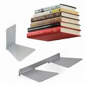 Support Etagere Invisible : rangement mural l 39 tag re invisible qui fait les livres ~ Premium-room.com Idées de Décoration
