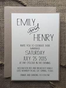 simple wedding invitations best photos - Cute Wedding Ideas