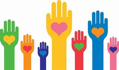 Hands Heart Hearts Derechos Giving Raised Mani