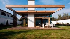 146, M2, Modern, Two, Bedrooms, House, Concrete, Rectangular, Architecture, Design, Idea