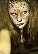 leopard woman by LePr0...