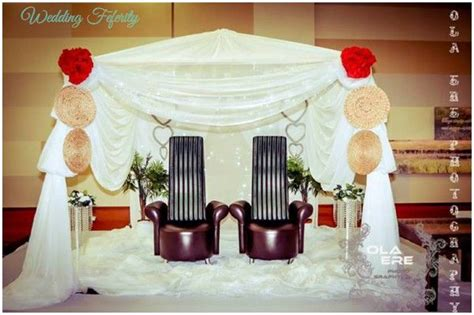 Bedroom Decor Ideas In Nigeria by Check Out Traditional Wedding Decor Ideas Here
