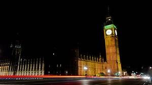 Big Ben London Night Time Lapse Stock Footage Video ...
