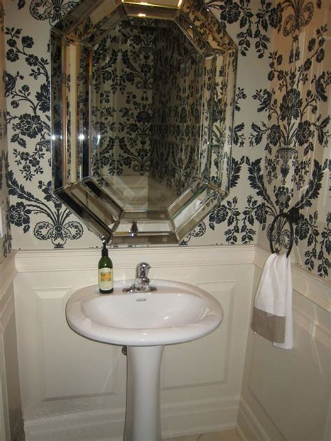 small pedestal sinks for powder room what is the best shape mirror to place with a round