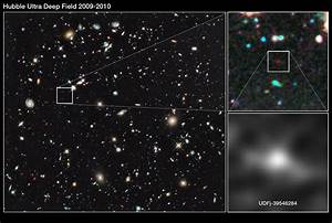 A new galaxy distance record by the Hubble Space Telescope ...