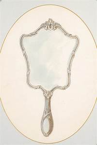 FABERGE Drawing of a Hand Mirror | Vintage mirrors, Tattoo ...