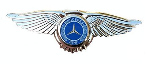 Mercedes Benz Amg Badge Emblem Eagle Wings 3d Car Logo