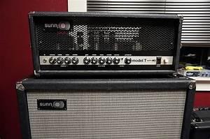 Sunn Model T 90s Reissue  Matching 4x12 Optional