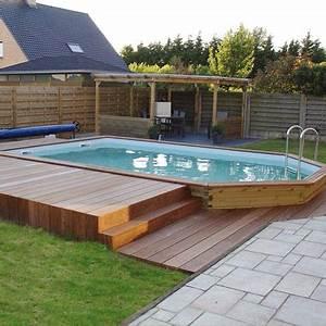 impressionnant piscine hors sol bois rectangulaire 3m 1 With piscine hors sol bois rectangulaire 3m