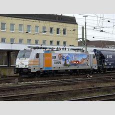 """Railpoolhsl """"wir Verbinden Europa"""" 6186 1814 Fährt Hier"""