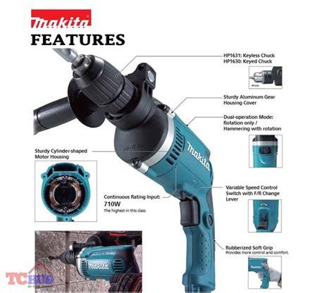 makita hp1630 710 w 13mm hammer drill lazada singapore