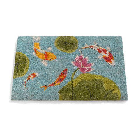 Fish Doormat by Koi Fish Doormat Gump S