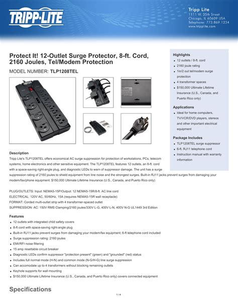 surge protector joules tv many