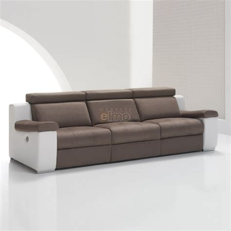 canape relaxation cuir canap 233 cuir bicolore relax massant chauffant absolut