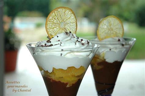 dessert avec orange fraiche capuccino de chocolat cr 233 meux et oranges au poivre de s 233 chuan